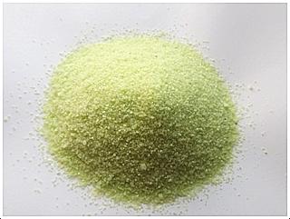 Dekorační písek zelený