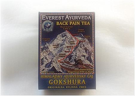 Himalájský ájurvédský čaj - Gokshura