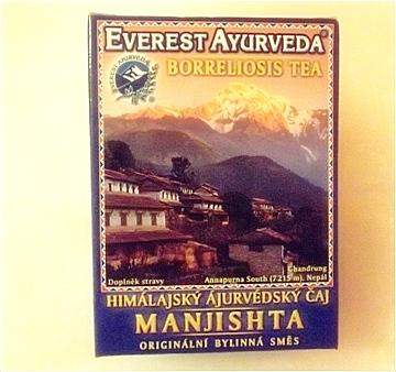 Himalájský ájurvédský čaj - Manjista
