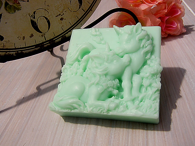 Glycerínové mýdlo - Jednorožci